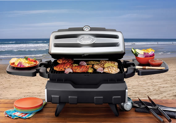 Freedom Grill FG-50 at the beach